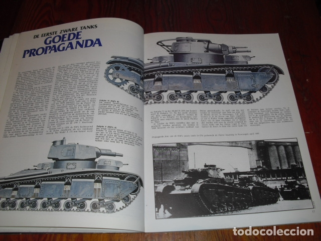 Militaria: DUITSE TANKS 1939 - 1945. - AÑO. 1978.- - Foto 4 - 171823718