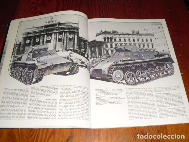 Militaria: DUITSE TANKS 1939 - 1945. - AÑO. 1978.- - Foto 5 - 171823718