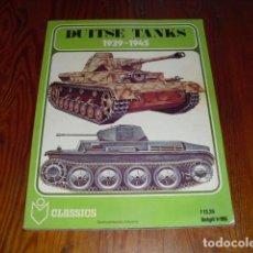Militaria: DUITSE TANKS 1939 - 1945. - AÑO. 1978.-. Lote 171823718