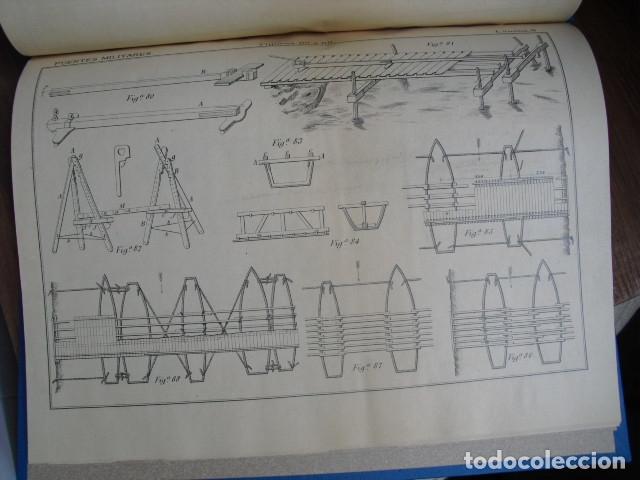 Militaria: 1891 ATLAS DEL TRATADO DE PUENTES MILITARES LEON MARTIN Y PEINADOR - Foto 4 - 172336684