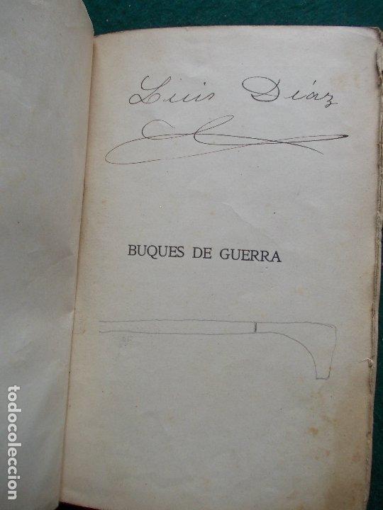Militaria: BUQUES DE GUERRA ARQUITECTURA NAVAL 1911 - Foto 3 - 172360073