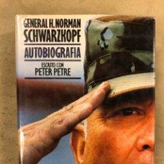Militaria: GENERAL H. NORMAN SCHWARZKOPF AUTOBIOGRAFÍA ESCRITA VON PETER PETRE. PLAZA & JANÉS EDITORES. Lote 172891698