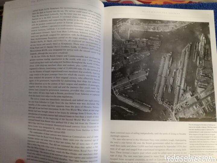 Militaria: Libro con Ilustraciones sobre La Batalla del Atlantico.Segunda Guerra Mundial. - Foto 3 - 172967007
