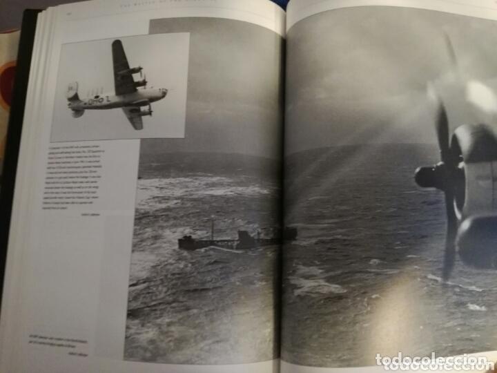Militaria: Libro con Ilustraciones sobre La Batalla del Atlantico.Segunda Guerra Mundial. - Foto 5 - 172967007
