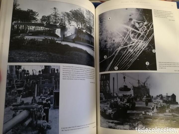 Militaria: Libro con Ilustraciones sobre La Batalla del Atlantico.Segunda Guerra Mundial. - Foto 6 - 172967007