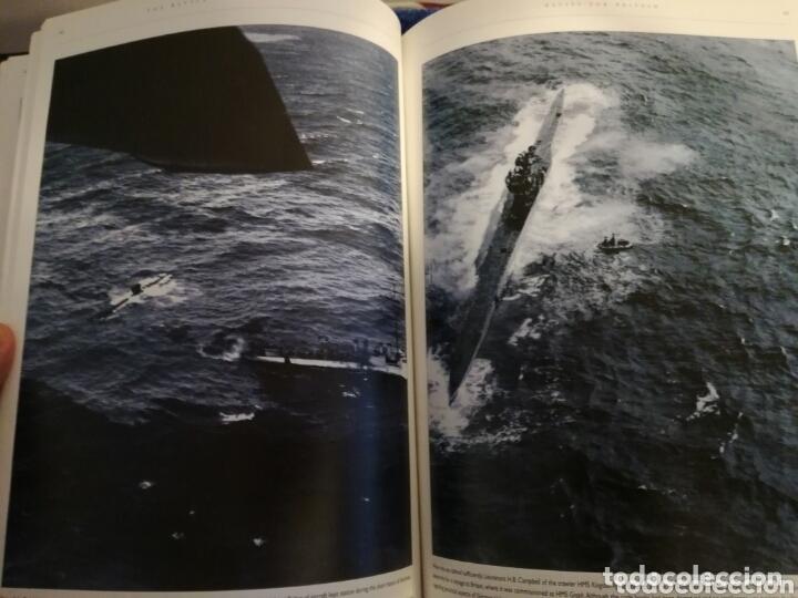Militaria: Libro con Ilustraciones sobre La Batalla del Atlantico.Segunda Guerra Mundial. - Foto 8 - 172967007