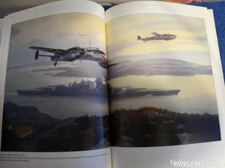 Militaria: Libro con Ilustraciones sobre La Batalla del Atlantico.Segunda Guerra Mundial. - Foto 9 - 172967007