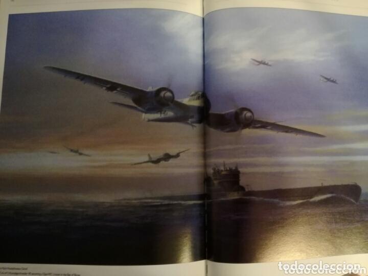 Militaria: Libro con Ilustraciones sobre La Batalla del Atlantico.Segunda Guerra Mundial. - Foto 12 - 172967007