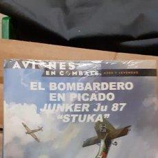 Militaria: EL BOMBARDERO EN PICADO JUNKERS JU 87 STUKA. OSPREY AVIONES DE COMBATE. Lote 173069214