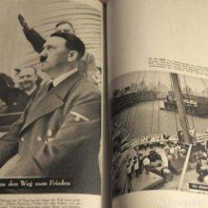 Militaria: LIBRO. DAS REICH ADOLF HITLERS. SEGUNDA GUERRA MUNDIAL. ALEMANIA 1940. Lote 173471025