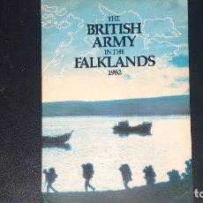 Militaria: THE BRITISH ARMY IN THE FALKLANDS. MALVINAS. Lote 173554417