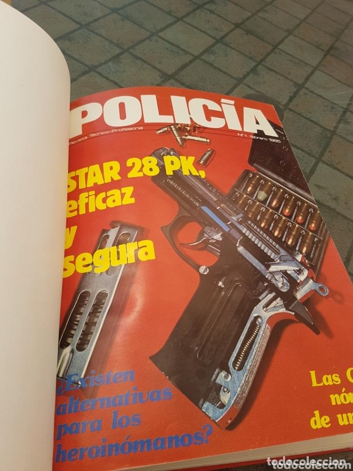Militaria: Revista técnico profesional policía tomo fascículos del 1 al 10 1985 - Foto 2 - 173633750