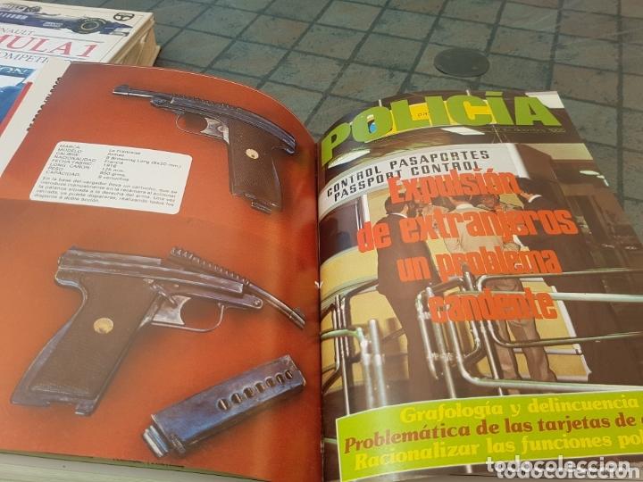 Militaria: Revista técnico profesional policía tomo fascículos del 1 al 10 1985 - Foto 3 - 173633750