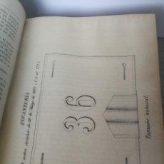 Militaria: 1892 - COLECCIÓN LEGISLATIVA DEL EJERCITO - PARQUE INTENDENCIA VALLADOLID - UNIFORMES, VIVAC, GUARDI. Lote 173676054