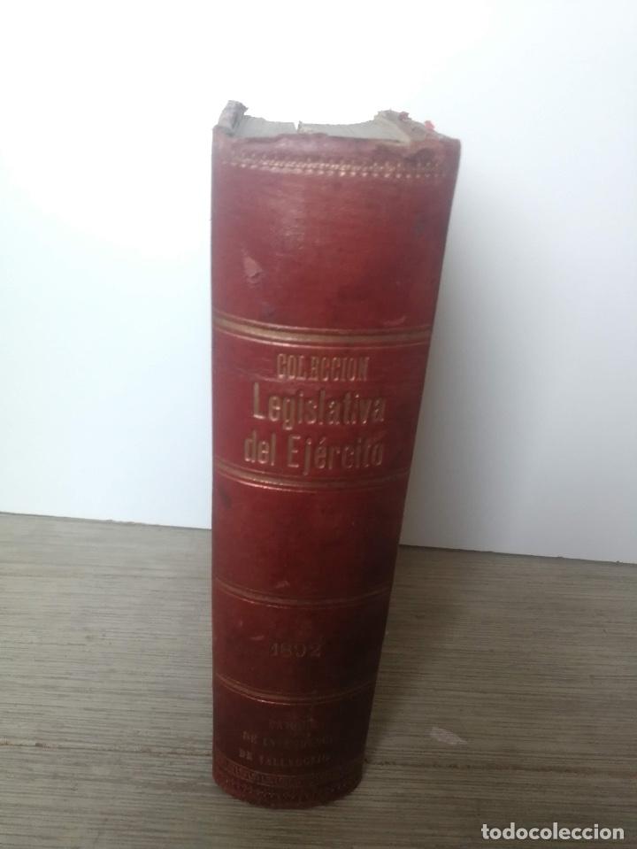 Militaria: 1892 - COLECCIÓN LEGISLATIVA DEL EJERCITO - PARQUE INTENDENCIA VALLADOLID - UNIFORMES, VIVAC, GUARDI - Foto 2 - 173676054