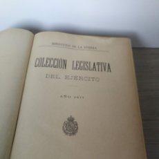 Militaria: 1877 - COLECCIÓN LEGISLATIVA DEL EJERCITO - PARQUE INTENDENCIA VALLADOLID - UNIFORMES, GUARDIA CIVIL. Lote 173676217