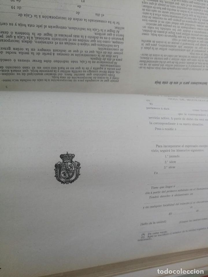 Militaria: 1914 - COLECCIÓN LEGISLATIVA DEL EJERCITO - PARQUE INTENDENCIA VALLADOLID - VESTUARIO, GUARDIA CIVIL - Foto 6 - 173676584