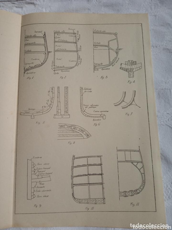 Militaria: Libro militar el arte naval militar. Epoca franquista.1950.ejercito.marina.aviacion.aire.falange.gua - Foto 2 - 173730094