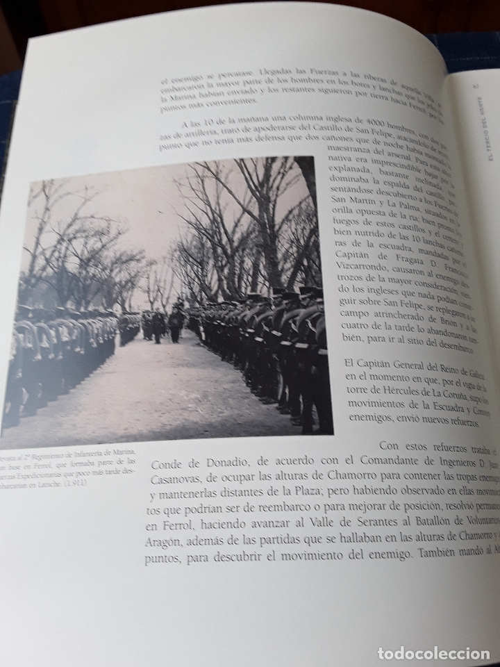 Militaria: -EL TERCIO NORTE -LOS INFANTES DE MARINA DEL QUARTEL DE DOLORES-115 PAG 2001 - Foto 4 - 173736059