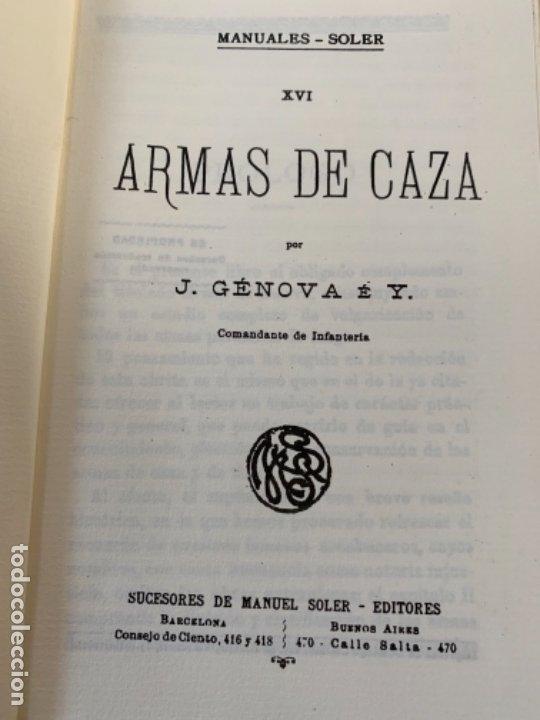 ARMAS DE CAZA (Militar - Libros y Literatura Militar)