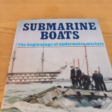 Militaria: SUBMARINE BOATS RICHARD COMPTON HALL. Lote 173902537