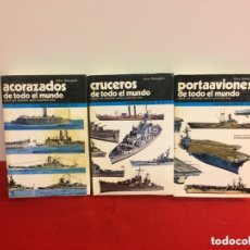 Militaria: ACORAZADOS, CRUCEROS Y PORTAAVIONES DE TODO EL MUNDO. Lote 174198912