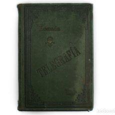 Militaria: MANUAL MILITAR DE TELEGRAFÍA, 1896. Lote 174460744