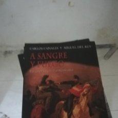 Militaria: EDAF A SANGRE Y FUEGO LA GUERRA CIVIL AMERICANA. Lote 175032362