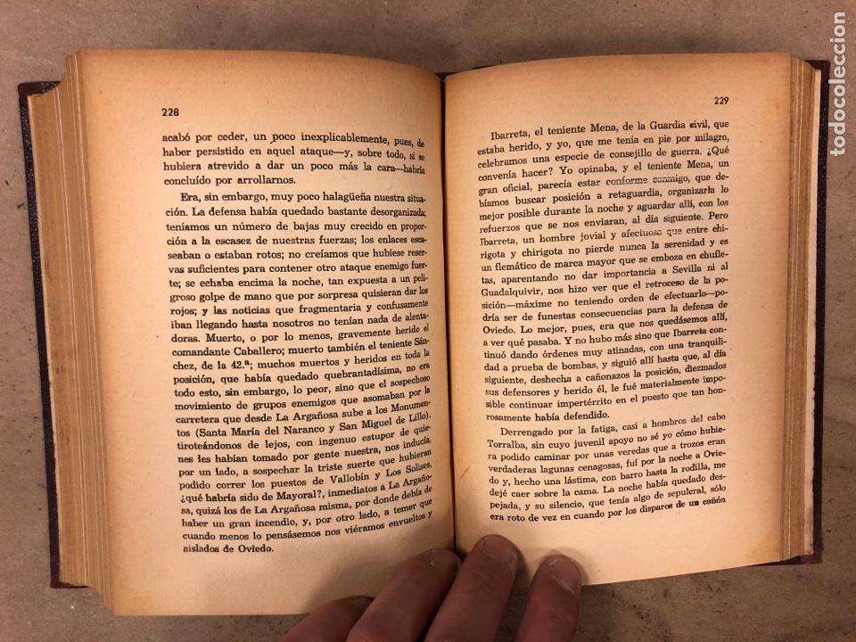 Militaria: SITIO Y DEFENSA DE OVIEDO. OSCAR PÉREZ SOLÍS. PRÓLOGO DEL GENERAL ARANDA. 1937 ARTES GRÁFICAS AFRODI - Foto 6 - 175117989