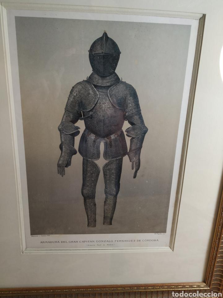 Militaria: Grabado armadura del gran capitán - Foto 6 - 175140137