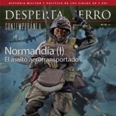 Militaria: DESPERTA FERRO CONTEMPORÁNEA N.33 NORMANDÍA (I). Lote 224801585