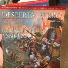 Militaria: DESPERTA FERRO ESPECIAL NºXIX - LOS TERCIOS N.VI - 1660-1704. Lote 230111705