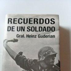 Militaria: RECUERDOS DE UN SOLDADO - HEINZ GUDERIAN. Lote 175702373