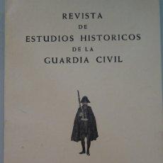 Militaria: LIBRO REVISTA ESTUDIOS HISTÓRICOS DE LA GUARDIA CIVIL. AÑO IV 1971 NUM 7. SOMATENES. 159 PAG. 350GR. Lote 175762575