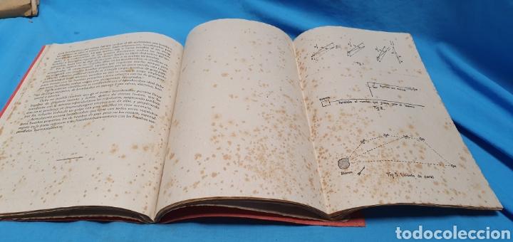 Militaria: Libro conferencias de bombardeo aéreo. Alicante 1938 . Modernas gráficas gutenberg - Foto 6 - 206948763