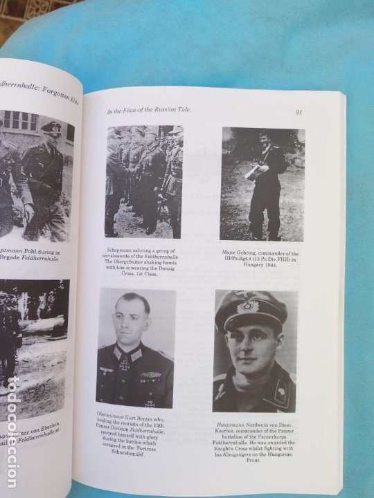 Militaria: Feldherrnhalle: Forgotten Elite Alfonso Escuadra - Foto 3 - 175785708