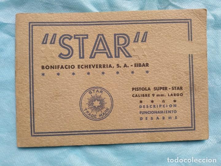 MANUAL PISTOLA SUPER STAR 9 LARGO (Militar - Libros y Literatura Militar)