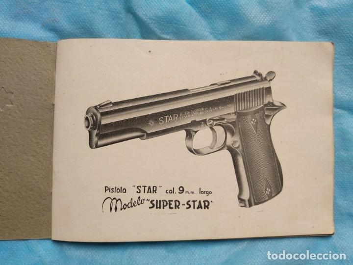 Militaria: Manual pistola Super Star 9 largo - Foto 4 - 175786830