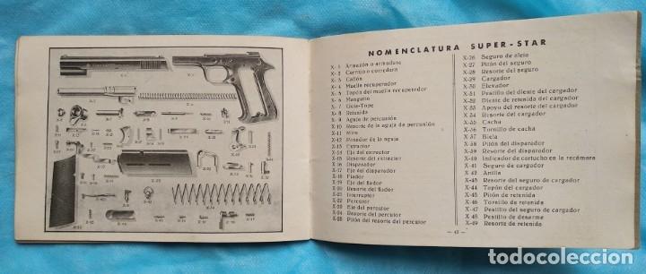 Militaria: Manual pistola Super Star 9 largo - Foto 5 - 175786830