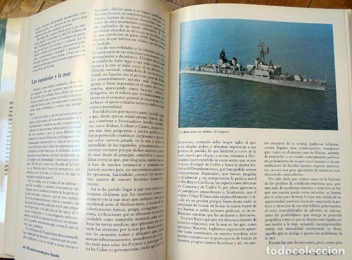 Militaria: ESPAÑA, PODER MARÍTIMO Y ESTRATEGIA NAVAL. FERNANDO DE BORDEJÉ. EMPRESA NACIONAL BAZÁN. ESPAÑA 1982. - Foto 4 - 175863262