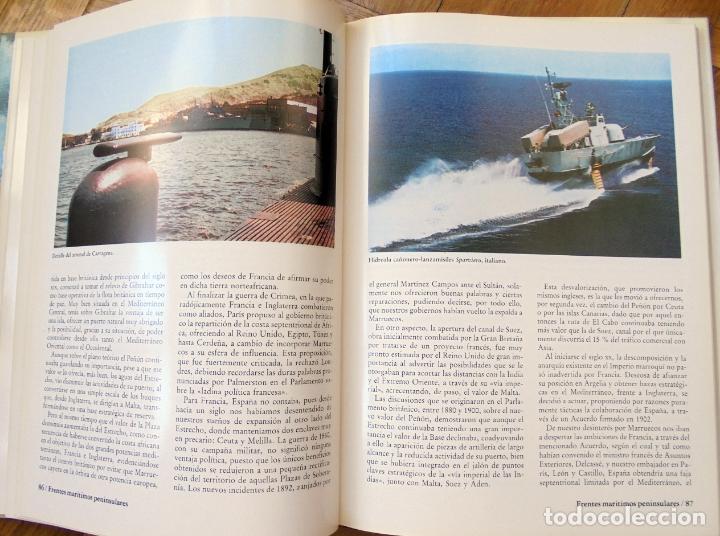 Militaria: ESPAÑA, PODER MARÍTIMO Y ESTRATEGIA NAVAL. FERNANDO DE BORDEJÉ. EMPRESA NACIONAL BAZÁN. ESPAÑA 1982. - Foto 5 - 175863262