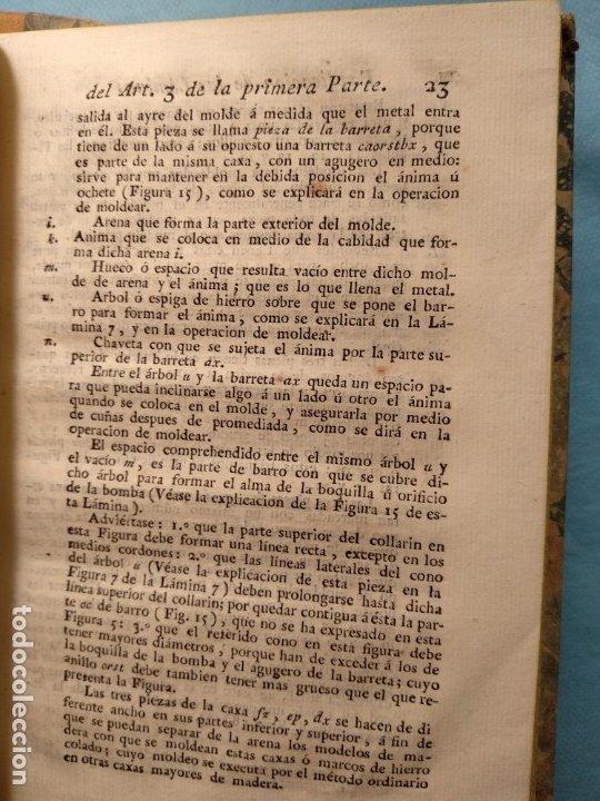 Militaria: Tratado de artilleria Morla 1816 y explicacion laminas artilleria - Foto 3 - 176025548