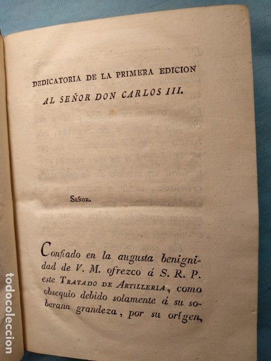Militaria: Tratado de artilleria Morla 1816 y explicacion laminas artilleria - Foto 5 - 176025548