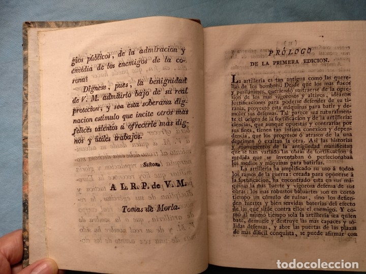 Militaria: Tratado de artilleria Morla 1816 y explicacion laminas artilleria - Foto 10 - 176025548