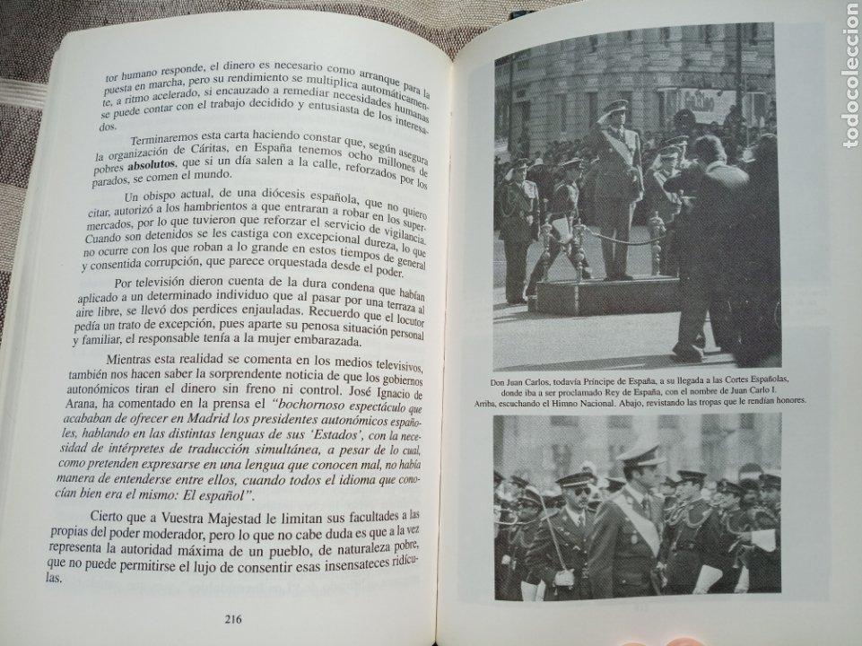 Militaria: Pareja libros politica.ecologismo.monarquia.transicion.falange.comunista.anarquista.socialista.efect - Foto 3 - 176158807
