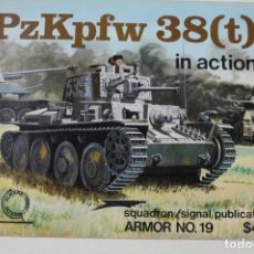 Militaria: SQUADRON SIGNAL PZKPFW 38 ( T ). Lote 176202094