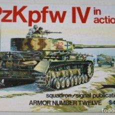 Militaria: SQUADRON SIGNAL PZKPFW IV. Lote 176202215