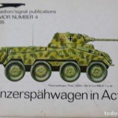 Militaria: SQUADRON SIGNAL PANZERRSPÄHWAGEN PUMA EN ACCIÓN. Lote 176202820