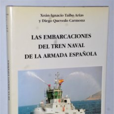 Militaria: LAS EMBARCACIONES DEL TREN NAVAL DE LA ARMADA ESPAÑOLA. Lote 176448147