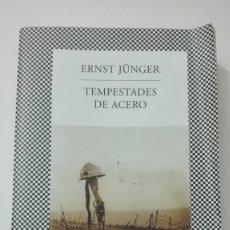 Militaria: I GUERRA MUNDIAL TEMPESTADES DE ACERO, DE ERNST JUNGER. 1 EDICIÓN 2013. Lote 210521440
